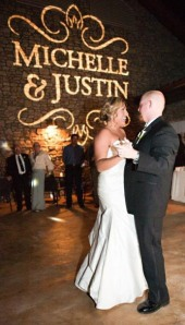 Gobo Example for First Dance