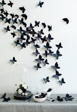 butterfly unique guestbook