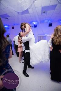 First Dance, Bride and Groom, Blue Uplighting, Uplighting, Dancefloor