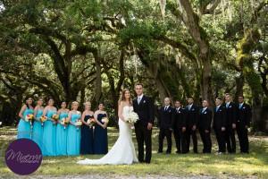 Couple, Court, Outdoor, Outdoor Wedding