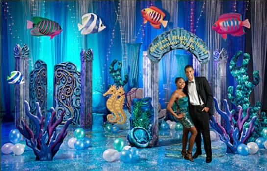 Groovy Under The Sea Themed Homecoming Dance Ideas And Suggestions Largest Home Design Picture Inspirations Pitcheantrous