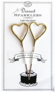 wedding, diy, sparklers, sparkler send off, heart shaped sparklers
