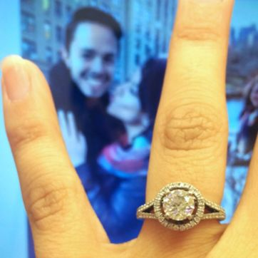 He put a ring on it!