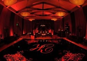 wedding, diy, uplighting, uplights, red uplighting, wedding reception,  wedding
