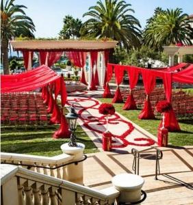diy, wedding, rose petals, rose petal aisle, ceremony, wedding ceremony