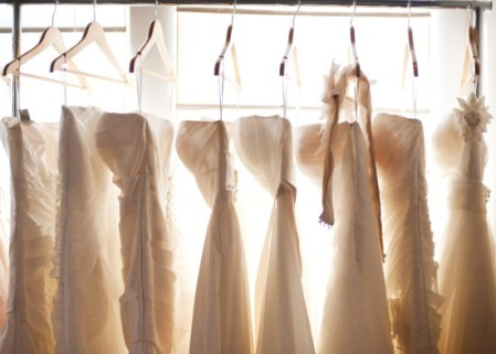 Choosing the perfect wedding dress! (Google image search via apracticalwedding)