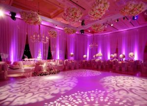 diy, wedding, monogram, gobo, gobo monogram, pattern gobo, pattern monogram, dance floor monogram
