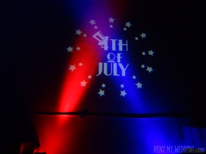 4th of july -  gobo - uplighitng