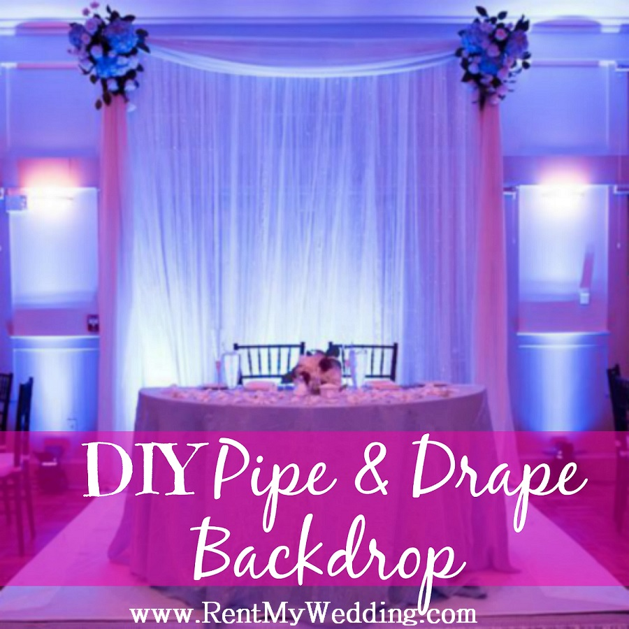 New Product Launch Diy Pipe Drape Backdrops Rent My