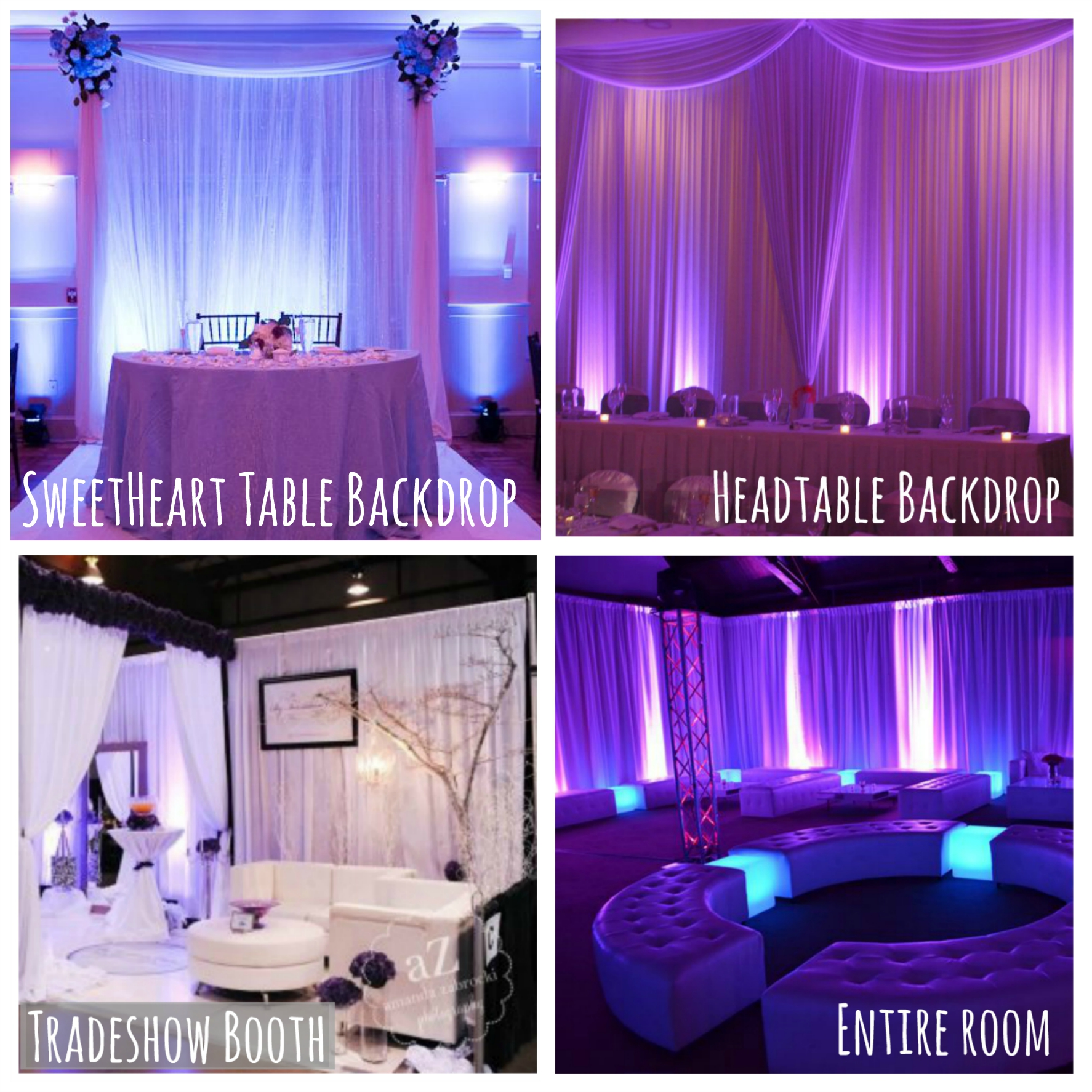new product launch: diy pipe & drape backdrops! – rent my wedding – blog