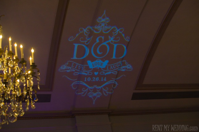 blue - wedding - gobo