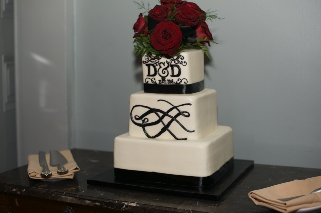 Monogram-Cake