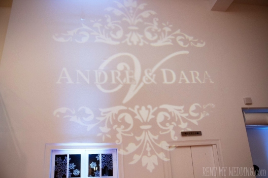 wedding - gobo - uplighting