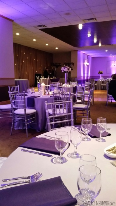 purple - uplighting