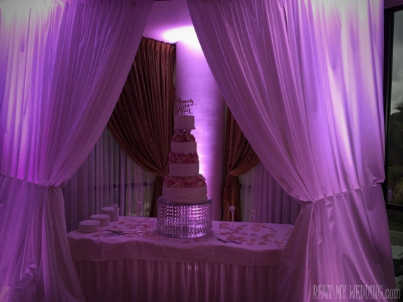 wedding - uplighting