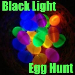 Black Light Egg Hunt