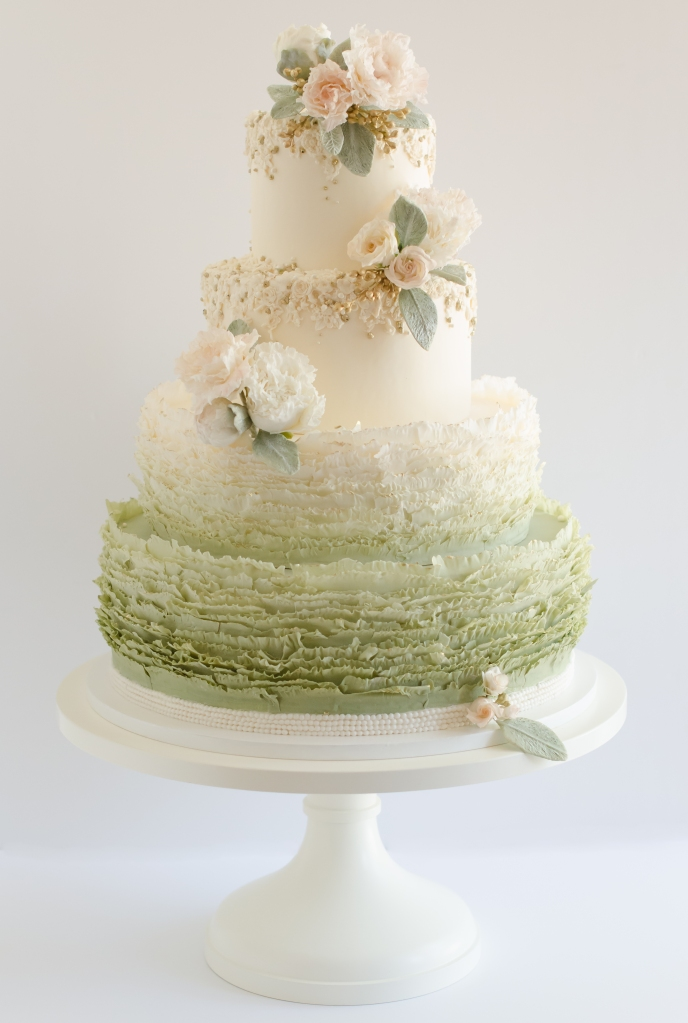 SPRING_Maggie Austin Lamb's Ear Four Tier