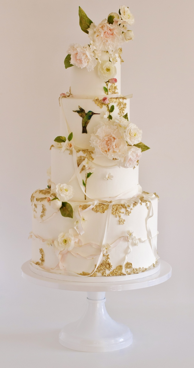 SUMMER_Maggie Austin Hummingbird Wedding Cake_
