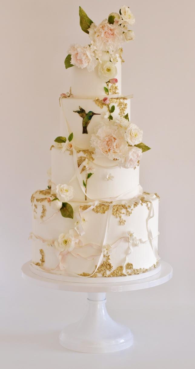 SUMMER_Maggie Austin Hummingbird Wedding Cake_