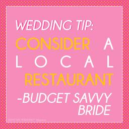 Budget Tips: Venue & Decor