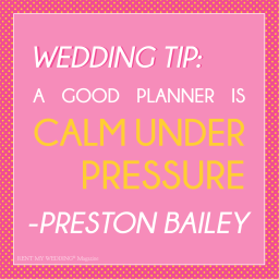 The Traits of a Good Planner